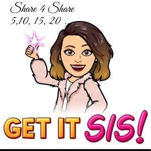 Share 4 Share 🌺🥰